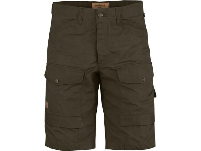 Fjällräven No. 5 Shorts Hombre, dark olive